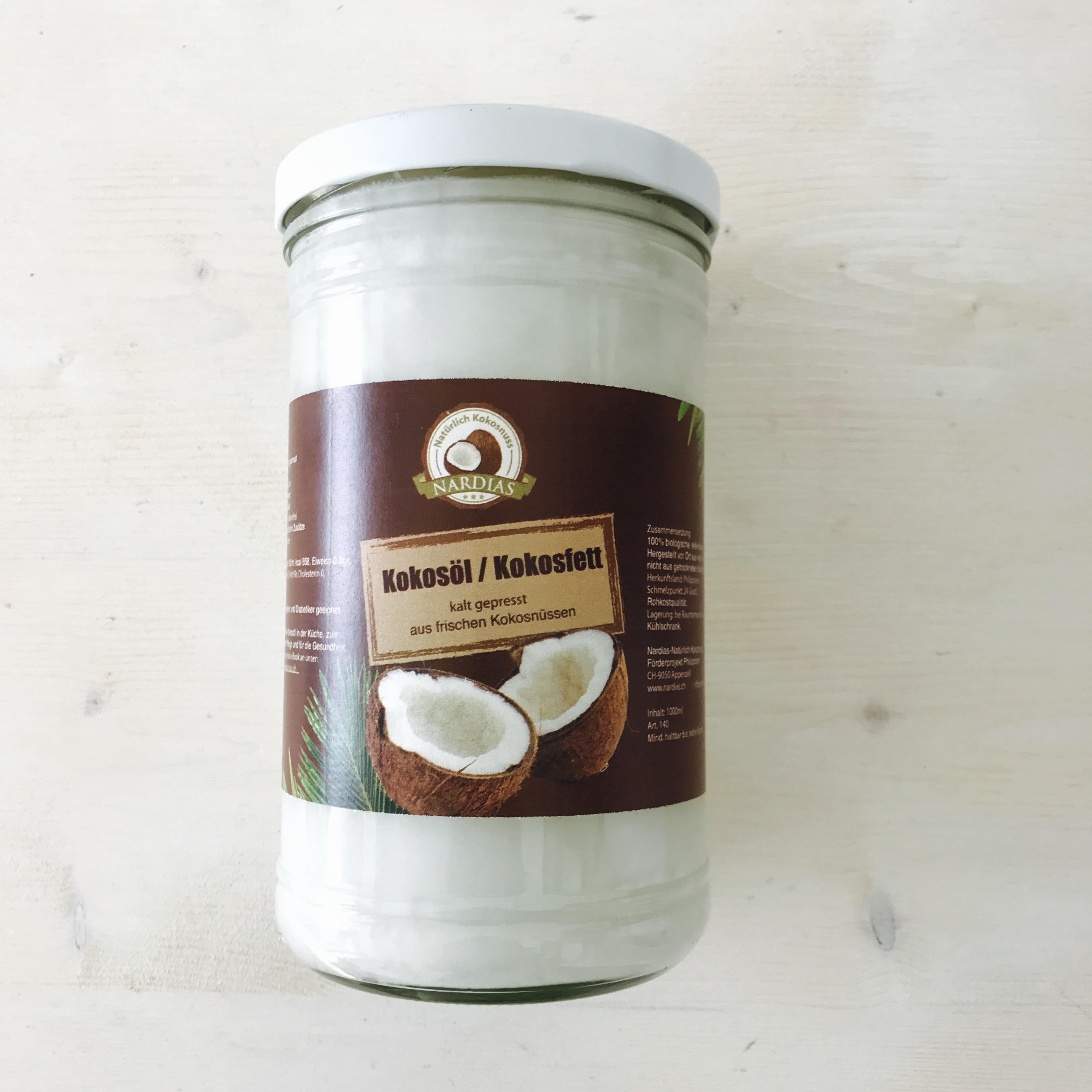 Kokosfett Inhaltsstoffe
